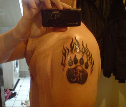 meine tattoos. Daher ein Pic meines Tattoos,